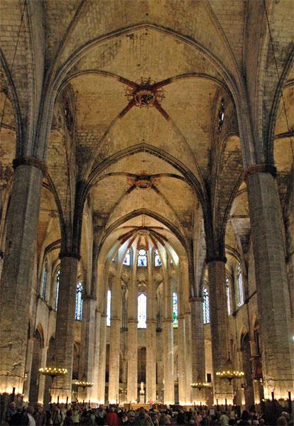 La Chiesa di Santa Maria del Mar