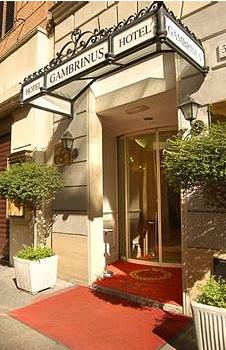 entrata hotel gambrinus