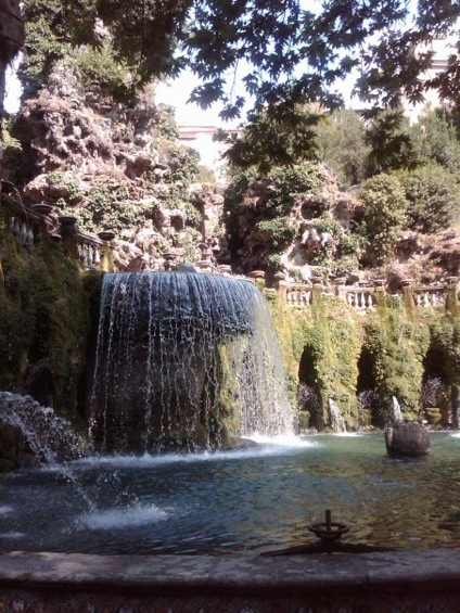 Fontana a Villa d'Este a Tivoli (RM)