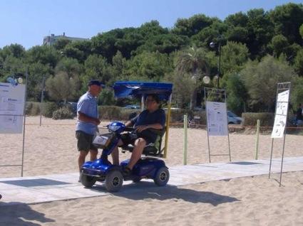 Passerella accesso disabili a montesilvano