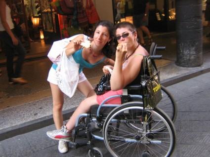 negozi accessibili disabili a chiavari
