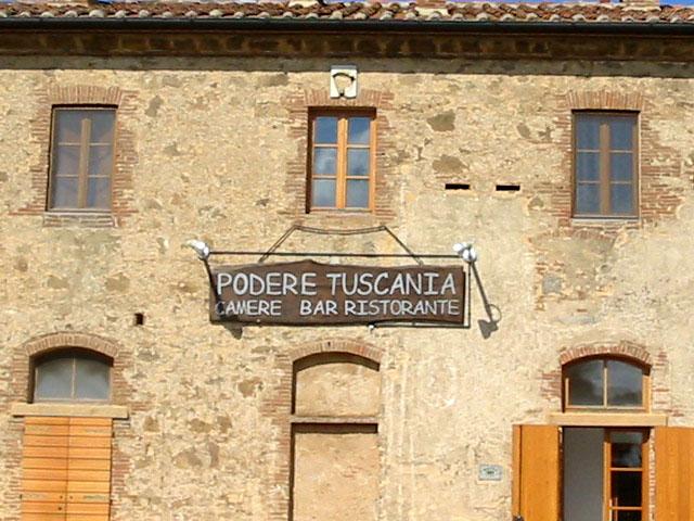 facciata podere tuscania