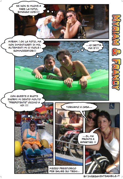 Myriam e Francy a Chiavari (GE)