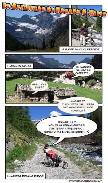 Franco & Giusy in Val D'Aosta