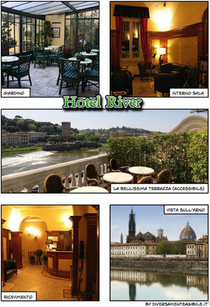 Hotel River foto interni e terrazza