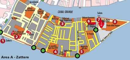 Area Zattere accessibile venezia