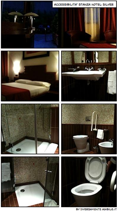 bagno accessibile hotel silver