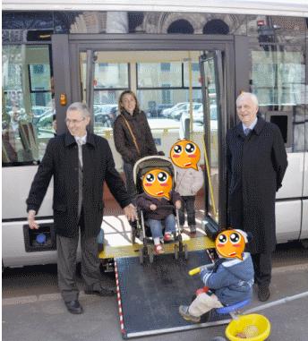 autobus accessibili a rho