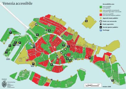 bagni accessibili a venezia