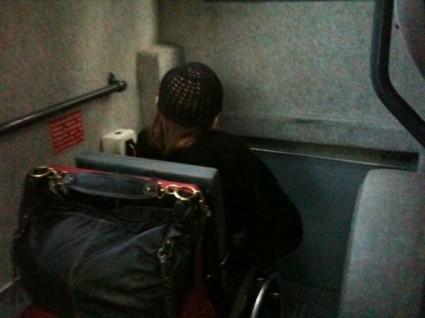 autobus non accessibile