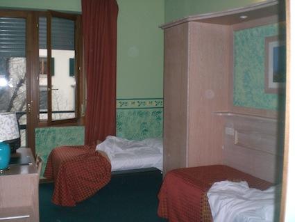 stanza disabili hotel meridiana