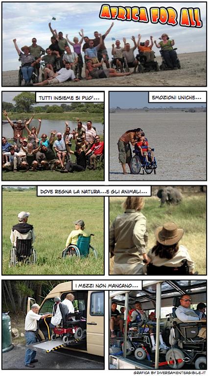 foto viaggi in africa con disabili