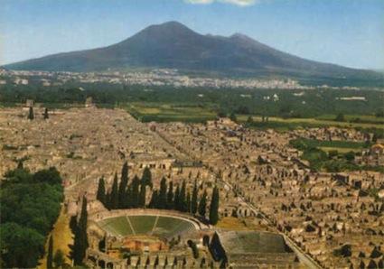 foto scavi pompei
