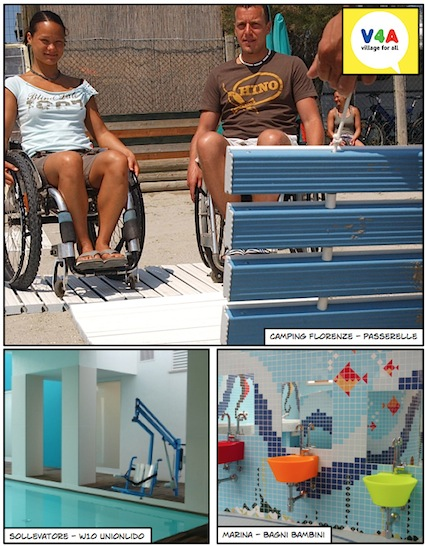 foto villaggio accessibile