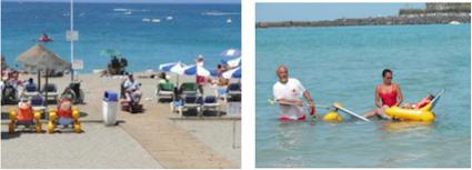 foto spiaggia accessibile