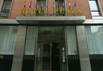 hotel plaza esterno