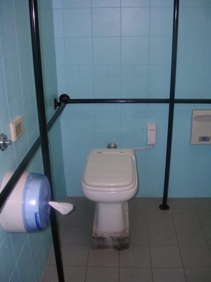 bagno ristorante accessibile