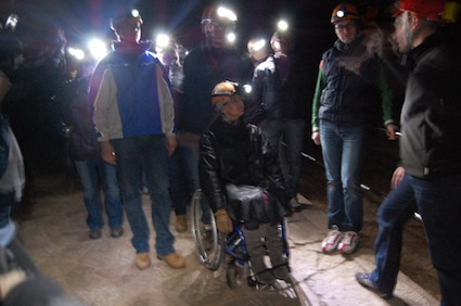 grotta accessibile disabili