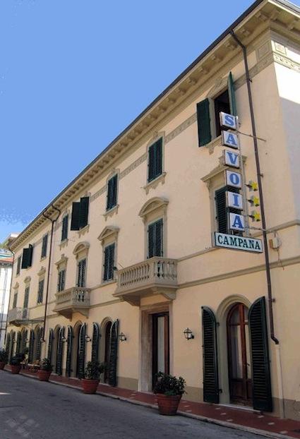 esterno hotel savoia & campana
