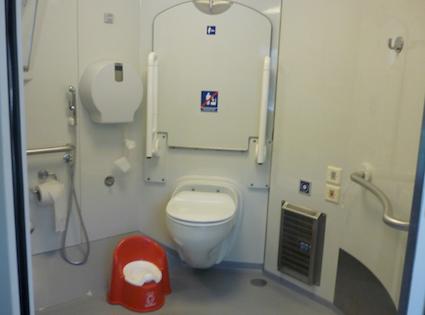 bagno accessibile