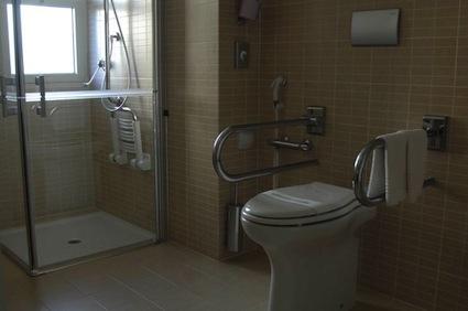 bagno attrezzato per disabili
