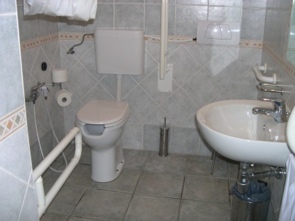bagno accessibile alghero