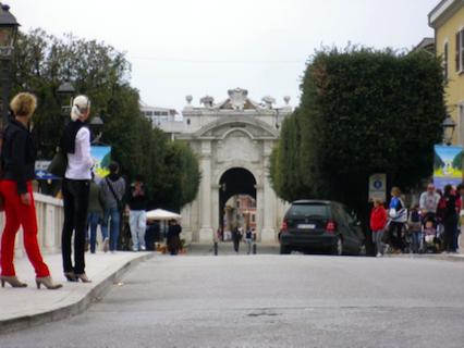 Porta d'ingresso della Città