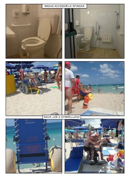 la spiaggia accessibile