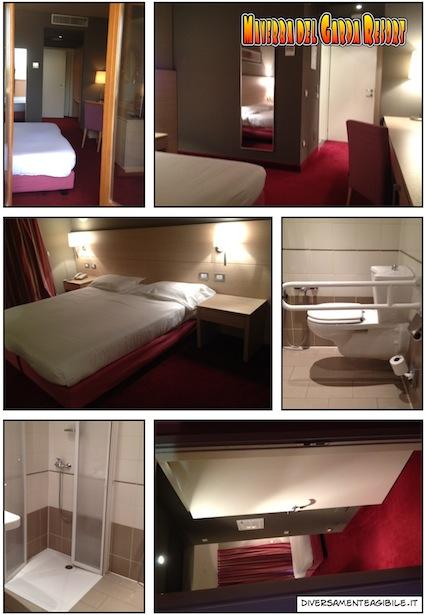 Foto della stanza e del bagno