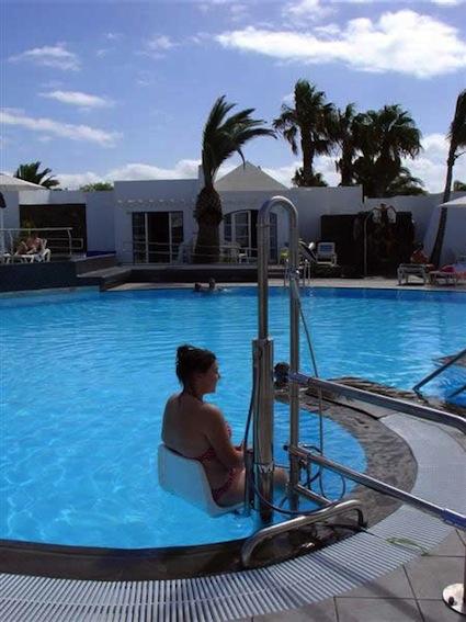 piscina accessibile
