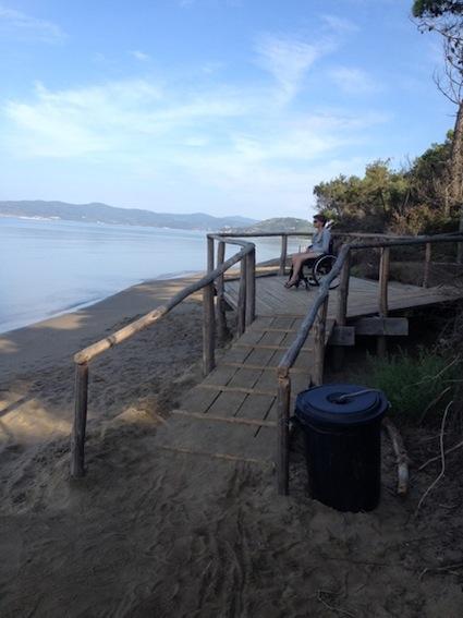 rampa spiaggia
