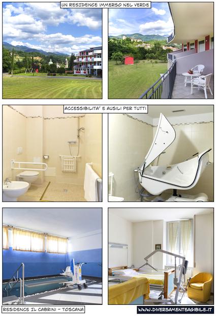 Residence Cabrini Accessibile Disabili
